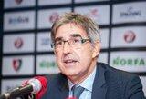 """J.Bertomeu: """"Europos taurės krepšininkai galės žaisti pasaulio čempionato atrankos turnyre"""""""