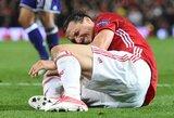 Chirurgai pataria Z.Ibrahimovičiui nepaankstinti sugrįžimo į futbolą