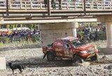 A.Juknevičius sėkmingai baigė aštuntąjį etapą, S.Loebas tapo bendros įskaitos lyderiu
