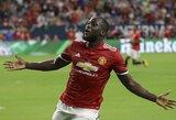 """R.Lukaku pasižymėjo Mančesterio derbyje, o """"Man Utd"""" įveikė """"Man City"""""""