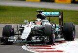 """L.Hamiltonas Kanadoje iškovojo """"pole"""" poziciją"""