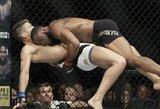 Sirgalių nušvilptoje kovoje T.Woodley įveikė S.Thompsoną ir išsaugojo UFC čempiono titulą