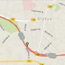 5.11 km. trasa Alytuje