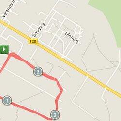 3.95 km trasa Alytuje