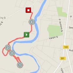 4.33 km trasa Marijampolėje