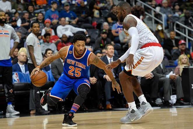 Derrickas Rose'as | Scanpix nuotr.