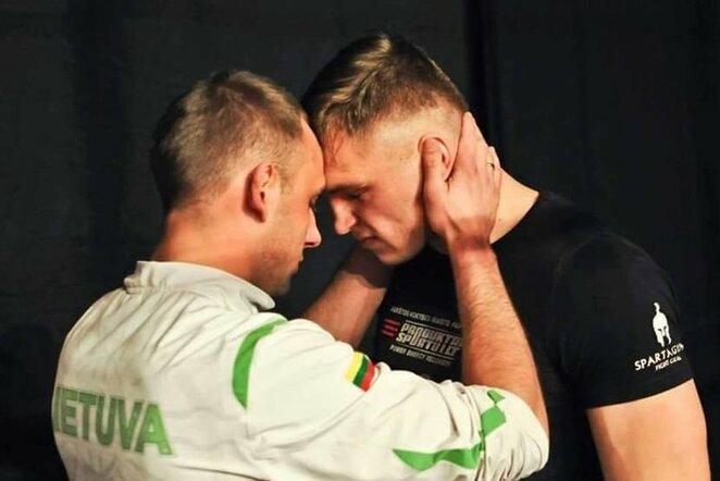 Andrius Šipaila ir Sergejus Maslobojevas   Scanpix nuotr.