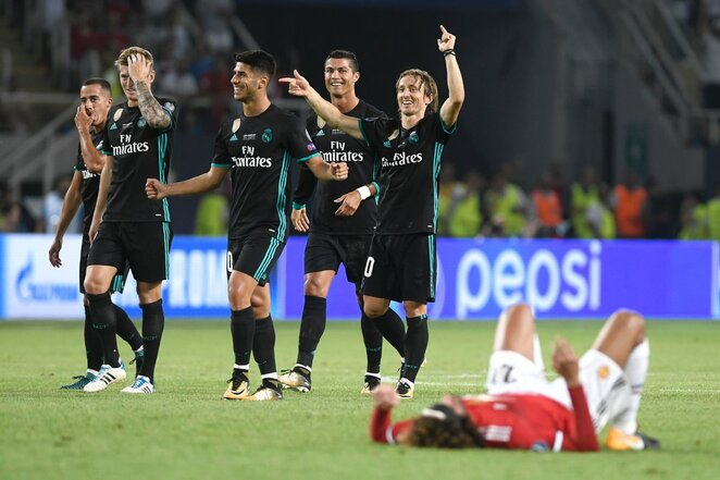 """Real"" laimėjo UEFAsupertaurę | Scanpix nuotr."