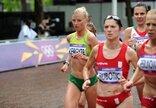 Olimpinio moterų maratono bėgimo...