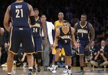 """""""Lakers"""" - """"Pacers"""" rungtynių..."""