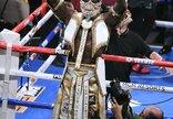 Profesionalų boksas: D.Wilderis...