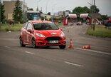 Automobilių slalomo varžybų serija...