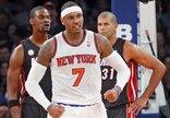 """""""Knicks"""" – """"Heat"""" rungtynių..."""