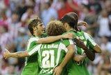 """""""Real Betis"""" išvargo pergalę rungtynėse prieš """"Valladolid"""""""