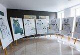 Istorinių krepšinio aprangų paroda su rinktine keliaus po Lietuvos arenas