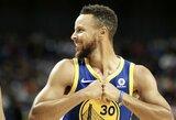 """Nesustabdomas S.Curry vedė """"Warriors"""" į pirmąją pergalę"""