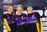 Lietuvos sniego tinklininkės Armėnijoje žengė į pusfinalį
