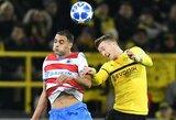 """Čempionų lyga: """"Borussia"""" ir """"Club Brugge"""" susitikime užfiksuotos nulinės lygiosios"""