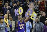 """Kobe atsisveikinimas, rekordai ir lenktynės dėl MVP: 10 faktų apie NBA """"All Star"""" rungtynes"""