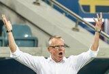 Švedijos rinktinės treneris J.Anderssonas: apie šimtaprocentinį neskirtą baudinį bei nepagarbų Vokietijos atstovų elgesį