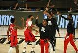 """""""Raptors"""" atsarginiai pelnė 100 taškų ir komanda žengė į Rytų pusfinalį"""