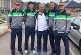 Varžovus nustebinę Lietuvos paplūdimio tinklininkai žengė žingsnį link olimpinių žaidynių