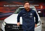 """""""Barcelonos"""" futbolininkų garažas: kurio """"Audi"""" brangiausia?"""