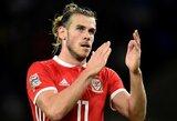 """Velso rinktinės lyderis G.Bale'as: """"Šioje atrankoje sieksime tapti grupės nugalėtojais"""""""