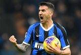 """""""Inter"""" rungtynių pabaigoje išplėšė pergalę prieš """"Verona"""""""