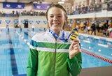 """Lietuvos plaukimo federacija sureagavo į U.Mažutaitytės žodžius: """"Tai buvo darbinis atsakymas į plaukikės užduotą klausimą"""""""