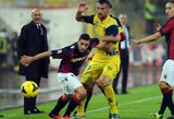"""Vienuoliktasis """"Serie A"""" turas pabaigtas lygiosiomis"""