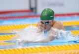 R.Meilutytė Anglijoje nesunkiai pateko į 50 m plaukimo krūtine finalą