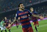 """D.Alvesas parašė atsisveikinimo laišką """"Barcelona"""" klubui"""