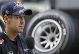 """S.Vettelis: """"Negaliu leisti sau atsipalaiduoti"""""""