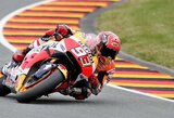 Vokietijos GP kvalifikacijoje – M.Marquezo pergalė ir J.Lorenzo vargai