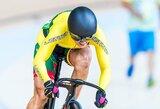 Olimpines viltis sprintui atidėjusi S.Krupeckaitė keirine nepateko į pirmąjį dešimtuką (atnaujinta)