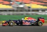 Antrosiose Korėjos GP treniruotėse greičiausias buvo S.Vettelis