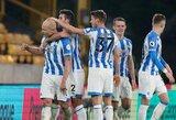 """A.Mooy'aus dublis paženklintas """"Huddersfield Town"""" pergale"""