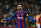 "Kova dėl ""Auksinio batelio"": L.Messi artėja triumfo link"