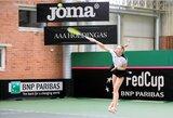 P.Bakaitė pralaimėjo teniso trilerį Turkijoje