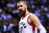 """""""Raptors"""" treneris pagyrė J.Valančiūną ir įvardijo jo pagrindinę problemą"""
