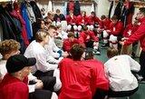 Jaunių rinktinės stovykloje lieka 25 žaidėjai, startuoja kontroliniai mačai
