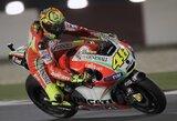 V.Rossi nežino, ko tikėtis iš lenktynių