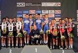 G.Bagdono ekipa pasaulio plento dviračių čempionate – 15-a