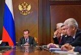 """D.Medvedevas sureagavo į Rusijos diskvalifikaciją: """"Tai chroniška antirusiška isterija"""""""
