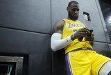 NBA patvirtino 29 socialines žinutes, kurias leis užrašyti ant žaidėjų marškinėlių