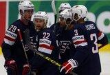Jauniausia pasaulio čempionato rinktinė tėškė antausį Rusijos ledo ritulininkams