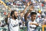 """Romos klubai barstė taškus, o """"Juventus"""" tuo puikiai pasinaudojo"""