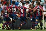 """Ispanijoje atsigaunantis """"Levante"""" nugalėjo žaidimo nerandančią """"Sevilla"""""""