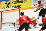 Pasaulio IA diviziono čempionate – dūris lazda N.Ališauskui ir skaudus lietuvių pralaimėjimas